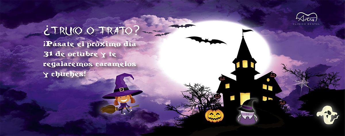 ¡Se acerca la noche de Halloween y en Artis Clínica Dental queremos celebrarlo contigo!