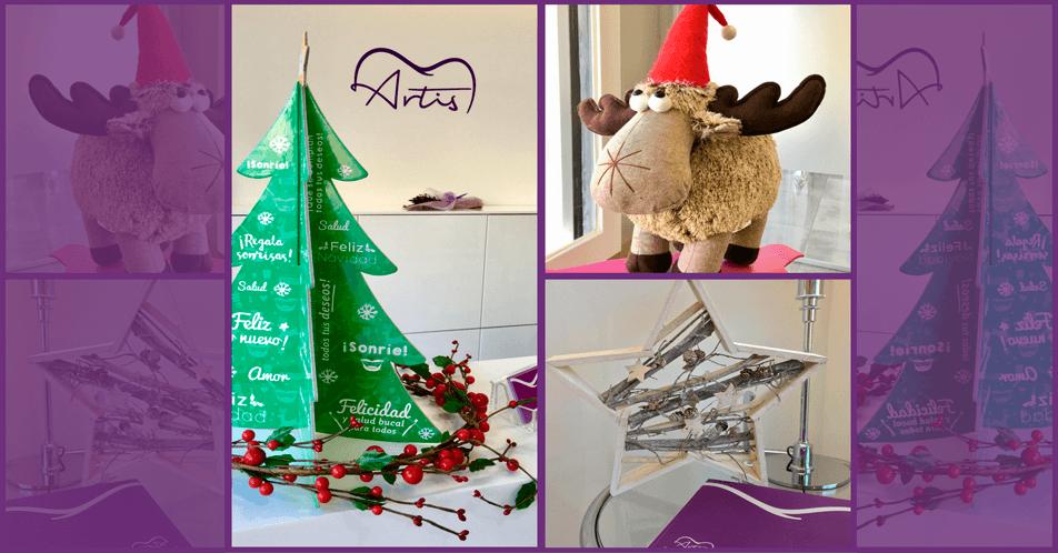 Ja ha arribat el Nadal a Artis Clínica dental i necessitem l'ajuda dels més petits!