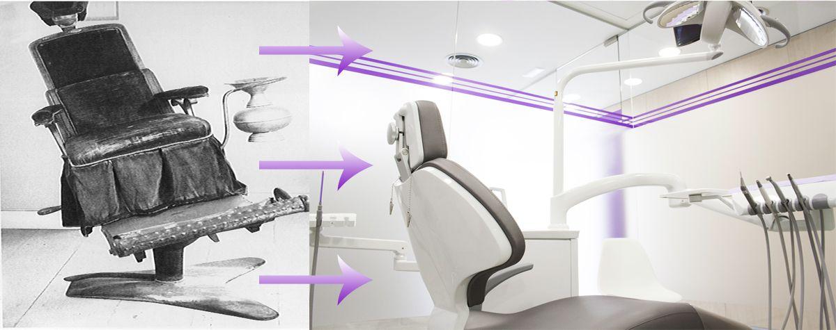 ¿Cómo era el primer sillón dental y quién lo inventó?