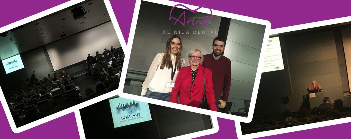 Nuestra directora y ortodoncista acudió al BOM 2017 (Barcelona Orthodontic Meeting)