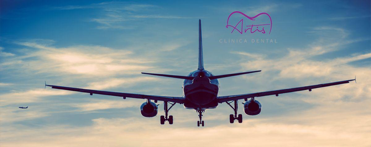 El efecto de un vuelo y la salud bucal