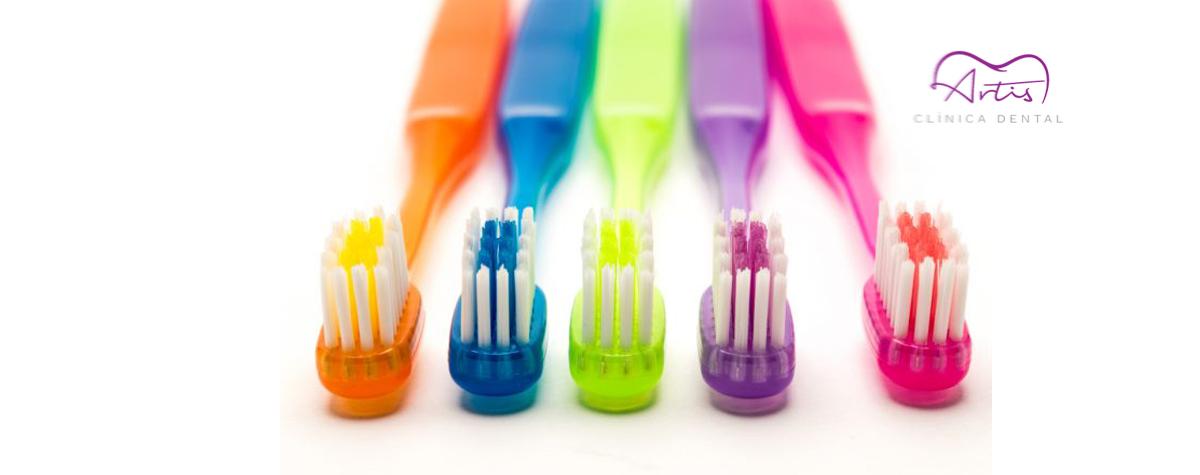 Cambio de cepillo dental tras un resfriado