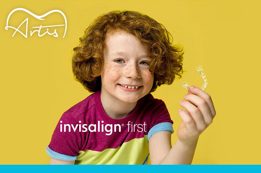 La ortodoncia invisible para los pacientes de Artis Kids